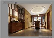 状元优发娱乐手机pt客户端样板间——豪华中式装修餐厅效果图