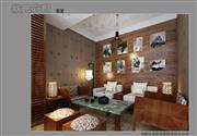状元优发娱乐手机pt客户端样板间——豪华中式装修茶室效果图